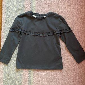 NWT Zara Baby Toddler Girls Long Sleeve Shirt 3-4